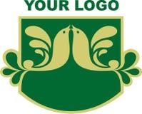 Votre logo de compagnie Photos stock
