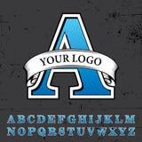 Votre Logo Poster Image libre de droits