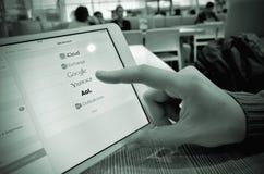 Votre service de messagerie électronique préféré Image stock