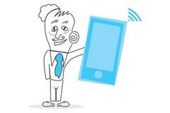 Votre téléphone de Mobil Photos stock