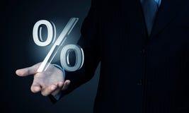 Votre taux d'intérêt Photos stock