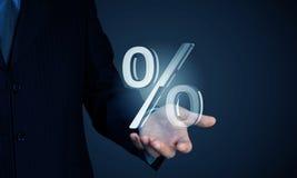 Votre taux d'intérêt Image libre de droits
