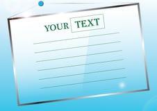 Votre texte Illustration Stock