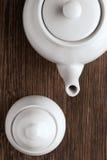 Votre thé est prêt, sont vous Image libre de droits