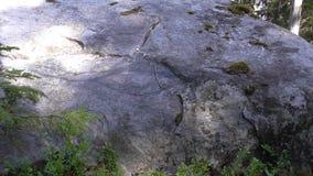 Vottovaara Καρελία - η περίληψη του ματιού στην πέτρα Στοκ φωτογραφίες με δικαίωμα ελεύθερης χρήσης