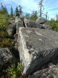Vottovaara Karelia obraz stock