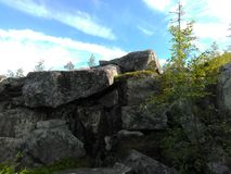 Vottovaara Karelia zdjęcia royalty free