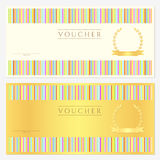 Voucher / coupon / gift Stock Photo