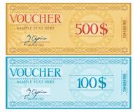 Voucher Stock Photos