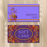 Voucher, Gift certificate, Coupon template for invitation, banner, ticket. Stock Photo