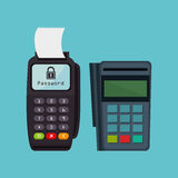Voucher machine electronic commerce Stock Photo