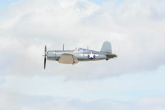 Vought F4U-1海盗 库存图片