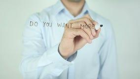 Voulez-vous plus de ventes ? Nous pouvons aider ! , Écrivant sur l'écran transparent banque de vidéos