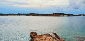 Vouliagmeni Greece Sea Beach stock photography