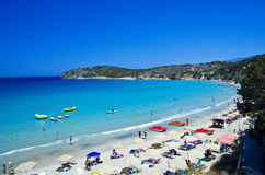 Voulisma beach Royalty Free Stock Photography
