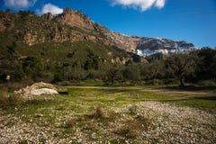 Vouraikos gorge, Peloponnese, Greece Stock Photography