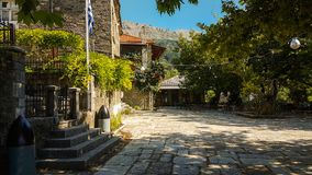 Vourgareli village in Epirus Arta Greece. Vourgareli village summer season  in Epirus Arta Greece Stock Photos