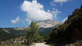 Vourgarelidorp in Epirus Arta Greece Royalty-vrije Stock Afbeelding