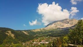 Vourgarelidorp in Epirus Arta Greece Stock Foto's