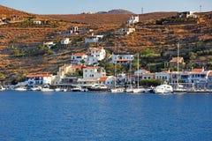 Vourkari en Kea, Grecia Foto de archivo