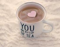 Vous êtes ma tasse de thé Photo libre de droits
