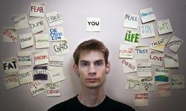 Vous Photo libre de droits
