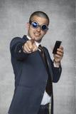 Vous avez besoin également d'un nouveau téléphone Photographie stock libre de droits