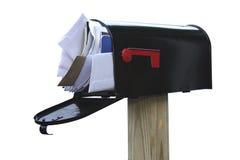 Vous avez excessif courrier Photo stock