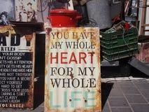 Vous avez mon coeur entier Photo libre de droits