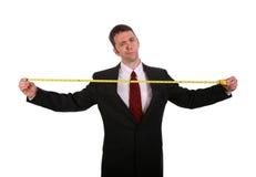 Vous mesurez vers le haut Image stock
