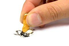 Vous pouvez cesser le tabagisme Photo libre de droits