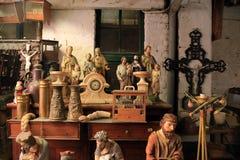 Vous pouvez trouver des magasins d'antiquités dans le Néerlandais Limbourg, Pays-Bas photographie stock