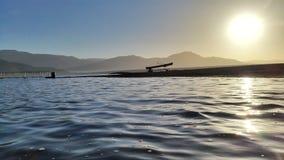Vous prenez l'océan, je garderez le lac Image libre de droits