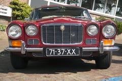 Vous voyez des lumières de voiture de vintage Image libre de droits