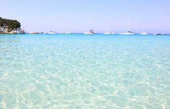 Voutoumi beach Antipaxos Ionian islands Greece Royalty Free Stock Photography