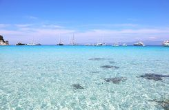 Voutoumi beach Antipaxos island Greece Stock Image