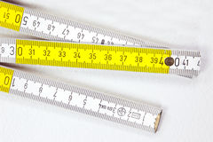 Vouwmeter Stock Fotografie