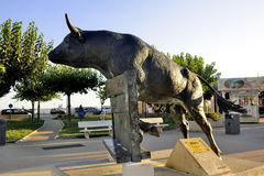 Vovo tjurskulptur Royaltyfri Fotografi
