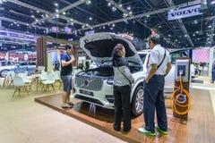 Vovolxc90 auto bij de Internationale Motor Expo 2016 van Thailand Stock Afbeeldingen