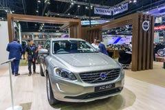 Vovolxc60 auto bij de Internationale Motor Expo 2016 van Thailand Royalty-vrije Stock Foto