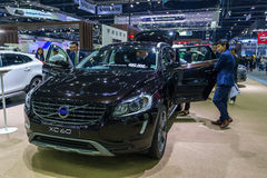 Vovolxc60 auto bij de Internationale Motor Expo 2016 van Thailand Royalty-vrije Stock Afbeelding