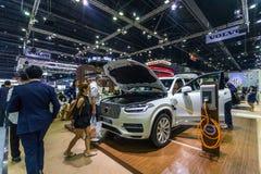 Vovolxc90 auto bij de Internationale Motor Expo 2016 van Thailand Stock Fotografie