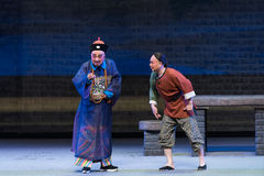 """Vowed that day-Shanxi Operatic""""Fu Shan to Beijing"""" Stock Image"""