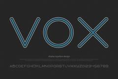 Vox ilustração royalty free