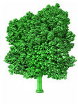 Voxel tree Royalty Free Stock Images