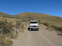 Voyage à la steppe Photo stock