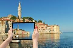 Voyage à Rovinj (Croatie) Images stock