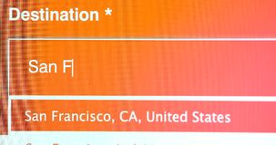 Voyage à San Francisco California Etats-Unis banque de vidéos