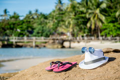 Voyage à tropical Photo libre de droits