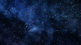 Voyage в глубокий космос иллюстрация штока